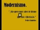 Modernismo e Manuel Bandeira