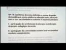 LDB - Gestão Democrática e Autonomia - Parte 1