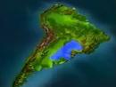 Localização do Aquífero Guarani