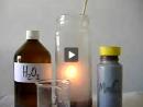 Decomposição da Água Oxigenada