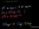pH e pOH de Ácidos e Bases Fortes