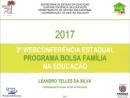 3ª Webconferência do Programa Bolsa Família na Educação 2017
