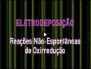 Eletrodeposiçâo