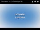 Equilíbrio Químico - Le Chatelier e a Pressão