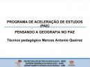 Programa de Aceleração de Estudos - Geografia