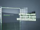 Webconferência - Tutorial