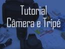 imagem de acesso ao tutorial câmera e tripé
