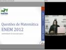 Questões de Matemática - Enem 2012 - Parte 1