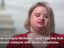 First Washington lobbyist with Down s syndrome