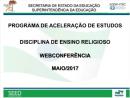 Programa de Aceleração de Estudos - Ensino Religioso