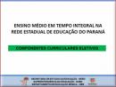 Comunicação, Cultura Digital e Uso de Mídias - Ensino Médio Integral